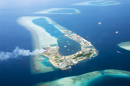 Geography Of Maldives Maldive Islands Atoll Lagoons And Reef